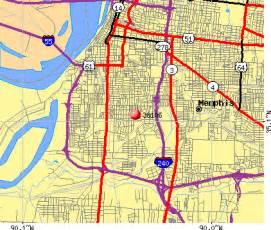 Memphis Zip Code Map by Zip Code Map Of Memphis Tn Images