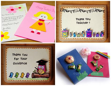 Teachers Day Handmade Card Ideas - creative greeting cards teachers day www pixshark