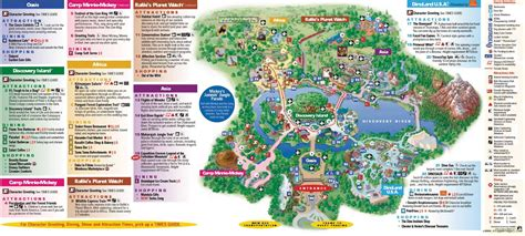 printable animal kingdom map 2015 viagem legal animal kingdom