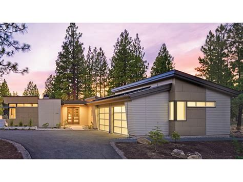 modern contemporary home plans home plan homepw77114 2331 square foot 2 bedroom 2