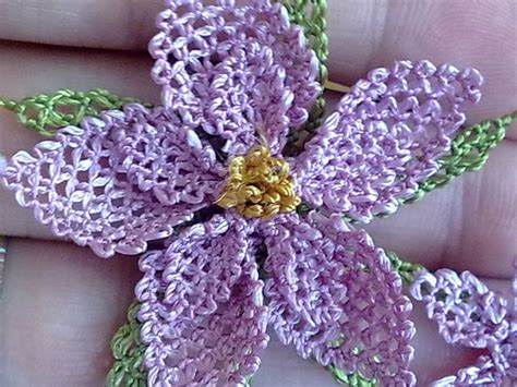 Handmade Flowers Tutorial - 17 best images about oya armanian lace on
