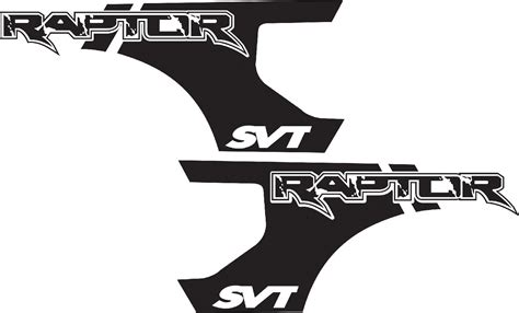 ford raptor logo product ford f 150 raptor svt bed decals graphics