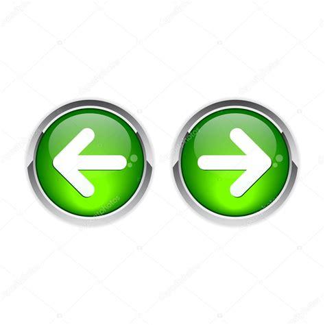 previous next button on the next to the previous back stock vector