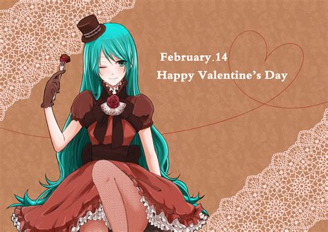 anime valentines anime s day wallpaper wallpapersafari