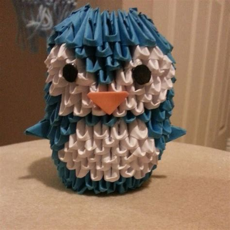 3d Penguin Origami - 17 best images about 3d origami on origami