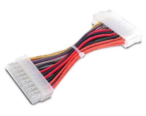 alimentatore pc 24 pin 6in 20 pin to 24 pin atx adapter atx power cables