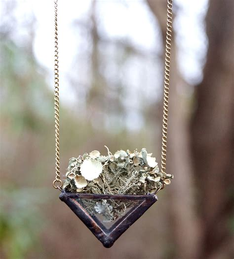 water torch for jewelry nature walk terrarium necklace jewelry necklaces