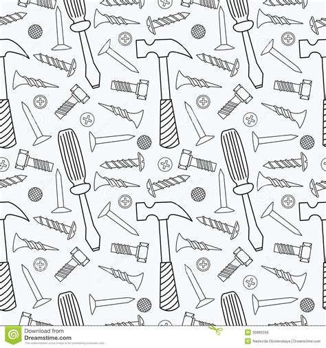 seamless pattern tool tools seamless pattern royalty free stock images image