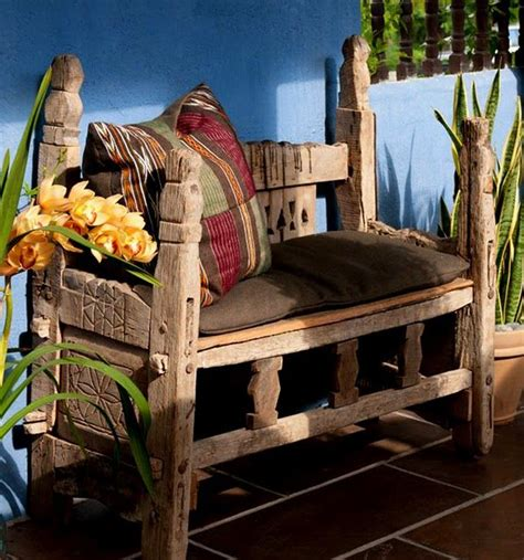 bench in latin outdoor mexican bench outdoor benches pinterest