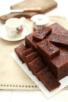 kek buah kukus jimat masa cepat mudah dan ringkas masam manis kek gula hangus akhirnya cake cake