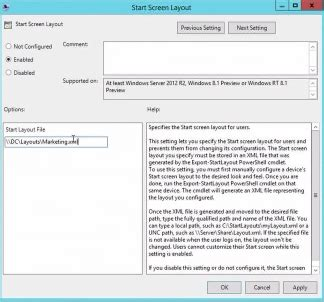 layout animation configure next customising windows 8 1 start screen layout with group policy