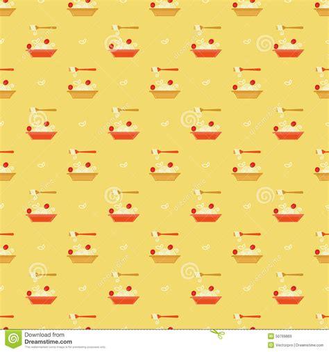 vector italian pasta pattern stock illustration italian pasta pattern stock vector image 50769869