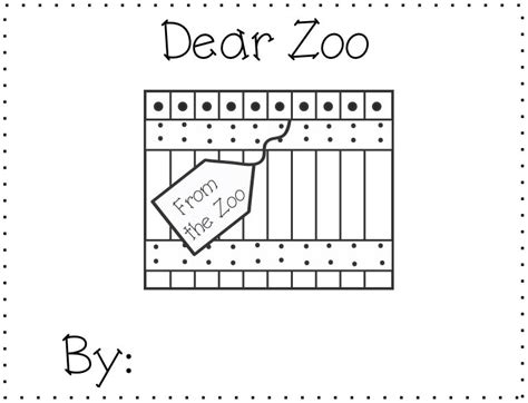 dear zoo coloring page free coloring pages of dear zoo