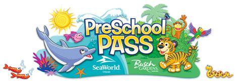 Busch Gardens Ez Pass by Sea World Busch Garden Offer Pre School Pass For 2012