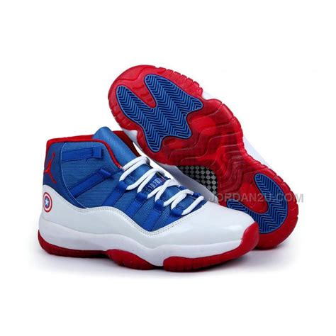 new jordans shoes for mens air 11 quot captain america quot price 85 00 new