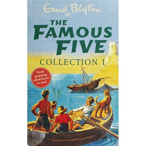 famous books the famous five collection 3 books in 1 by enid blyton