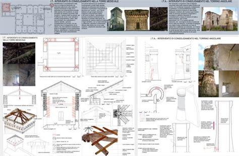 tavole restauro federica eu laboratorio di restauro 1 il progetto di