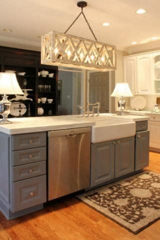 farmhouse kitchen sink in island how to build a kitchen island with sink and dishwasher woodworking projects plans