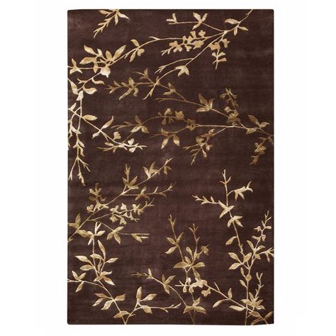 home decorators collection chaparral chocolate 2 ft x 3