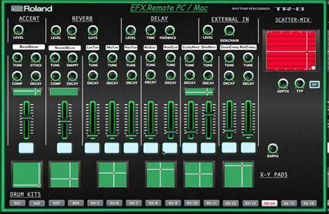 tr editpro soundeditor soundtower software software tr 8 efx remote editor software para roland aira tr 8
