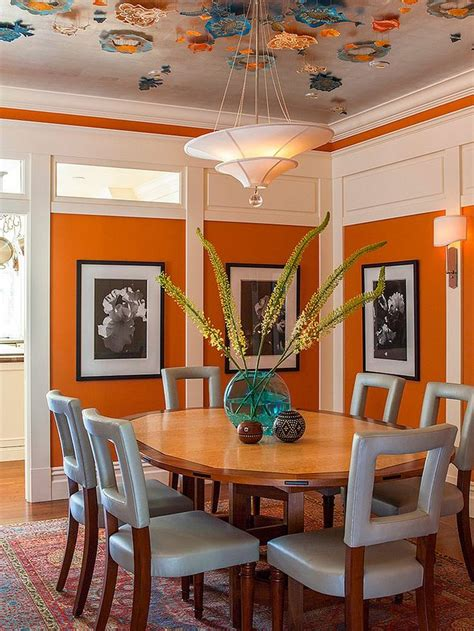 burnt orange dining room best 25 orange dining room ideas on burnt