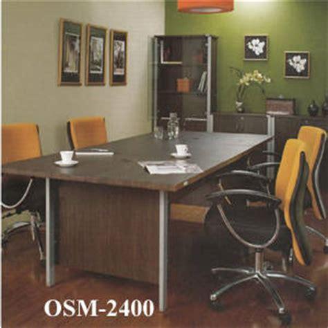 Meja Kantor Besar jual meja rapat orbitrend osm 2400 harga murah distributor