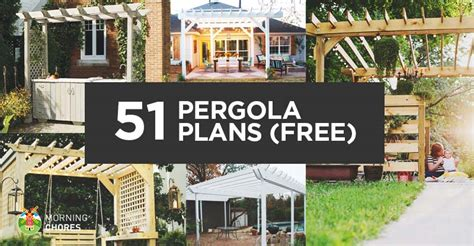 51 DIY Pergola Plans & Ideas You Can Build in Your Garden