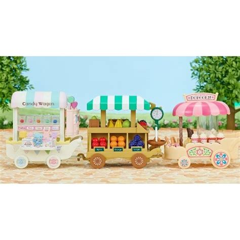 sylvanian families fruit wagon from who what why
