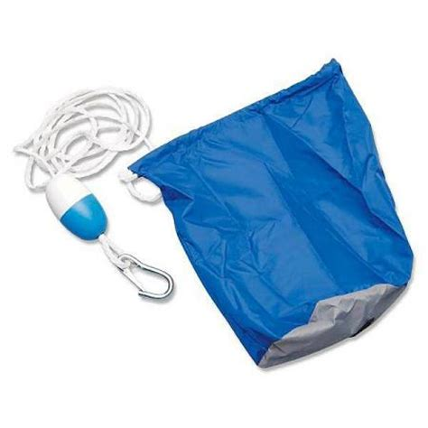 boat parts unlimited parts unlimited pwc mini boat large anchor bag blue seadoo