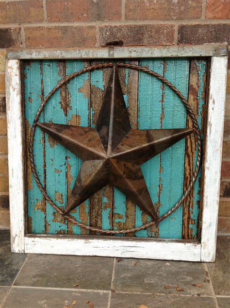 texas star home decor salvaged antique window frame with texas star on abandoned