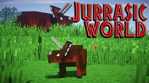 mod game jurassic world minecraft mods jurassic world dinosaurs in minecraft