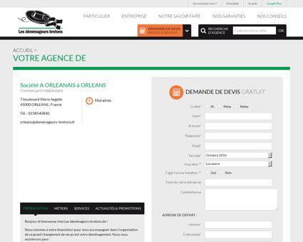 Garde Meuble Loiret by Comparateur De Services De D 233 M 233 Nagement De Castelnaudary