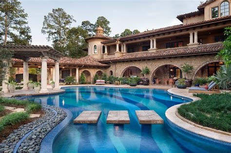 mediterranean pools memorial moroccan mediterranean pool houston by