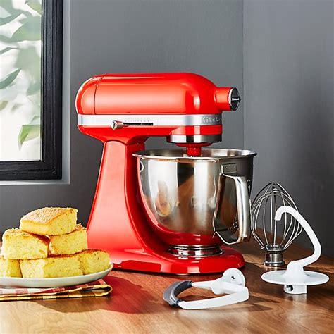kitchenaid artisan hot sauce mini mixer  flex edge