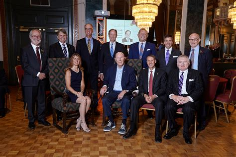 Degroote Executive Mba by Evening Of Accolades Honours Michael G Degroote Longtime