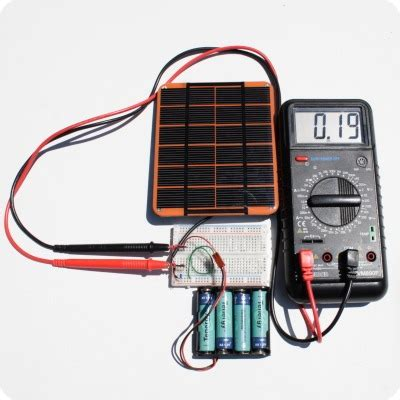 how to charge a capacitor with solar cell solar charger tutorial part 3 voltaic for solar diy projects and solar adventures