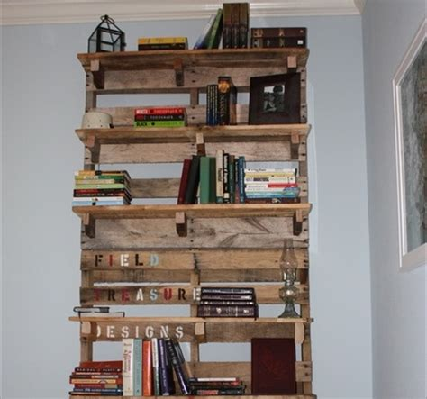 diy pallet bookshelf plans or wooden