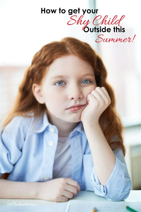 How to get your shy kids outside to play this Summer ... Introverted Child
