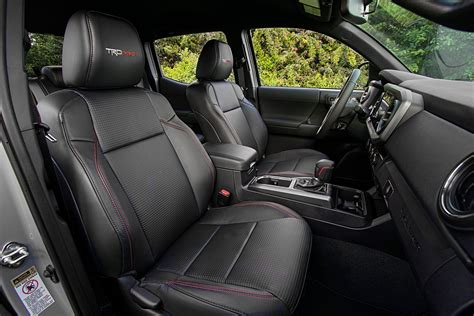 Tacoma Leather Interior by 2017 Toyota Tacoma Trd Pro Drive