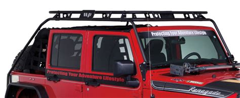 Warrior Products Roof Rack by Warrior Products 885 Roof Rack 07 13 Jeep Wrangler 4 Door