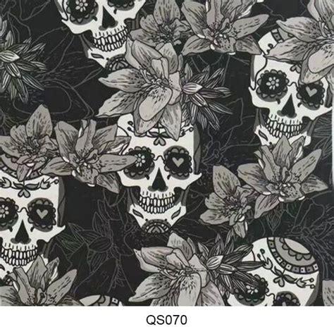 Skull Hydro hydrographics skull pattern qs070 hydrographics