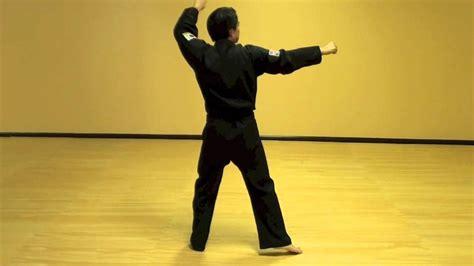 youtube taekwondo pattern 5 wan hyo step by step tae kwon do pattern youtube