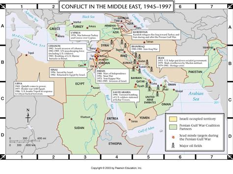 middle east map conflict map of middle east conflict