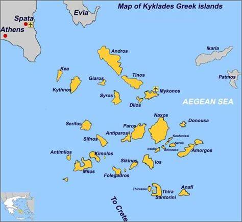map of greece islands matina hotel in kamari santorini location matina