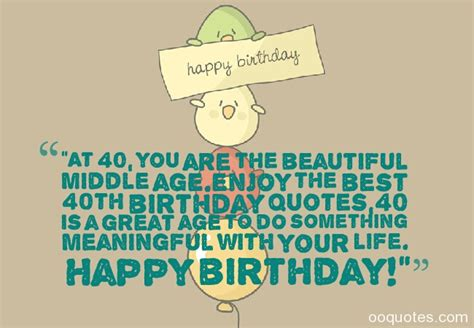 Quotes For 40 Year Birthday Forty Birthday Quotes Quotesgram