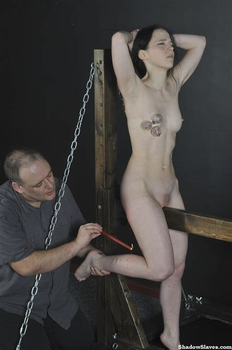 Kamis Wooden Horse Device Bondage And Torture To Tears Of Teen Slaveslut In The Pichunter