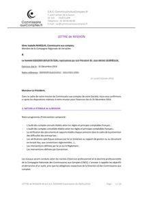 Lettre De Recommandation Commissaire Aux Comptes exemple lettre de recommandation commissaire aux comptes