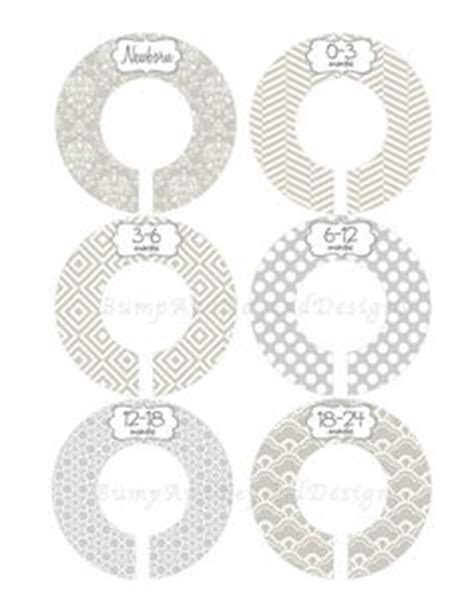 clothes divider template closet dividers these make so much more sense than