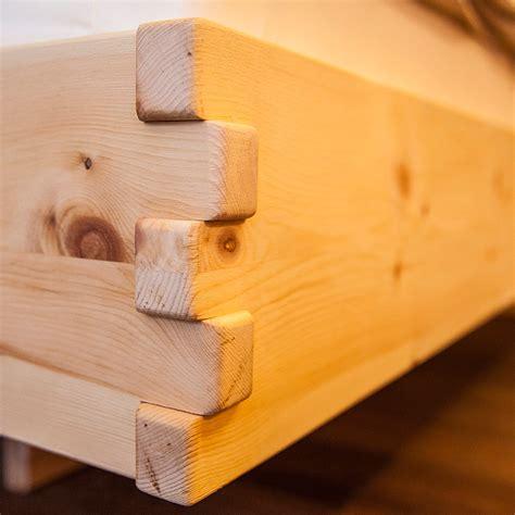 bett zirbenholz bett aus zirbenholz m 246 bel aus zirbenholz