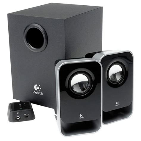 Speaker Aktif La altavoces logitech ls21 2 1 discoazul